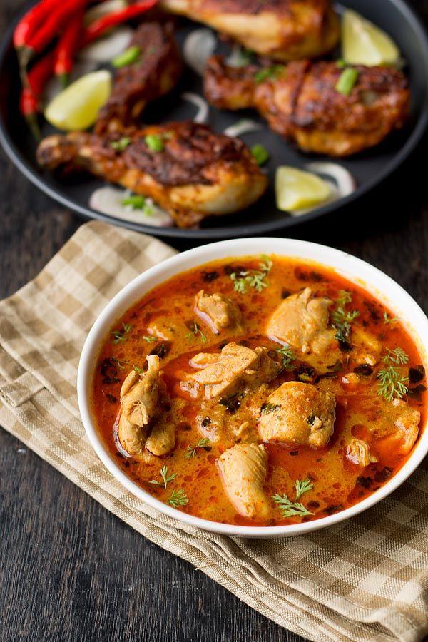 Punjabi Chicken Curry, Punjabi Dhaba Style Chicken Curry Recipe   Recipe    Curry recipes, Curry chicken recipes, Recipes