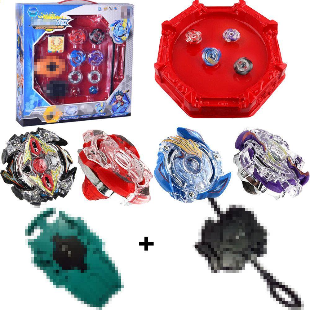 4fdfabd018dd6c Burst Beyblade 4D Set Classic Toys Mit Launcher und Arena Metallkampf Kampf Fusion  mit ursprünglichem Kasten