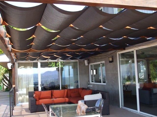 Design Of Outdoor Sheer Roman Shades Ideas Photo