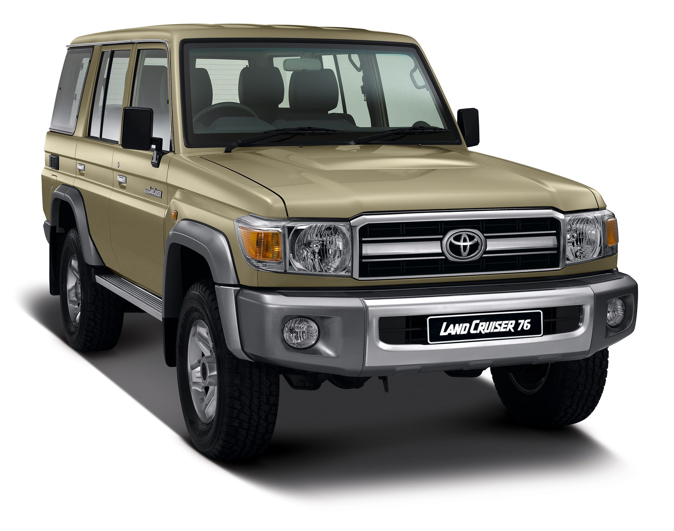 Land cruiser 70 series expanded