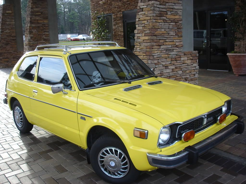 77 Honda Civic Second Car My Style Pinterest 1970 Si