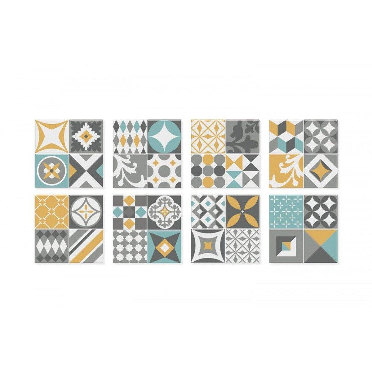 Carrelage Mural Adhesif 3d Smart Tiles Vintage Cadiz X6 Taille