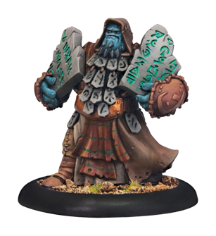 Runebearer Warlock Attachment #HORDES #Trollbloods