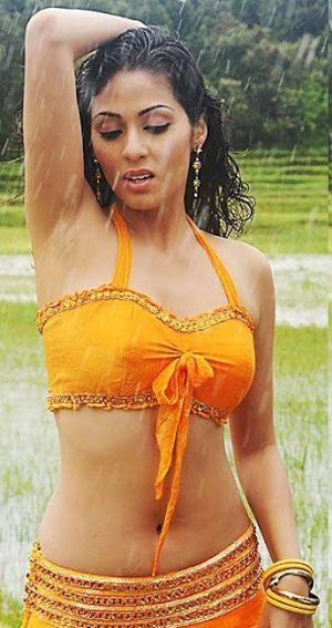 Indian Actresses Under The Rain Wet Saree Cloth Pictures Gudread Com