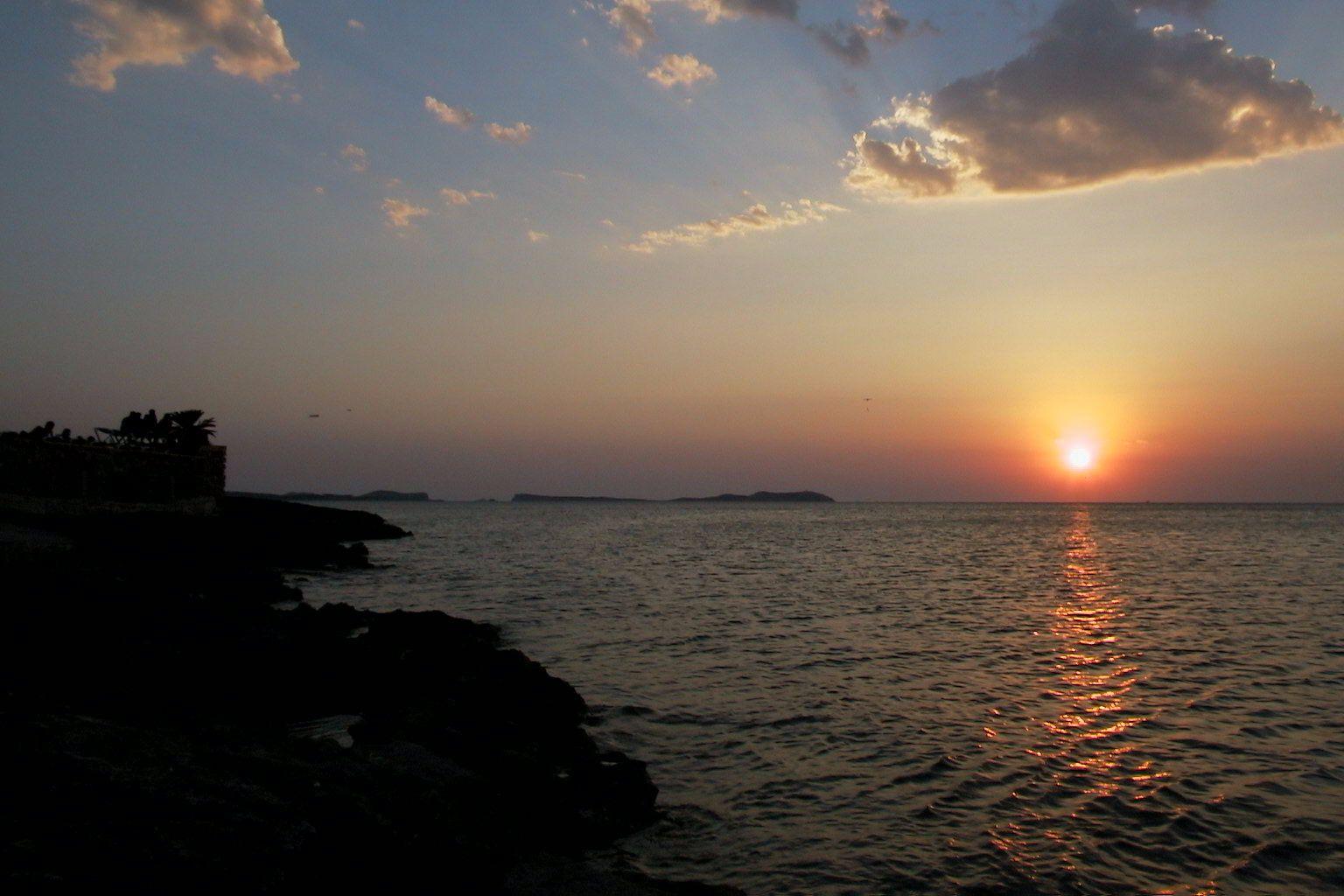 San Antonio Abad Ibiza Islas Baleares Spain By Valentin Enrique закаты восход