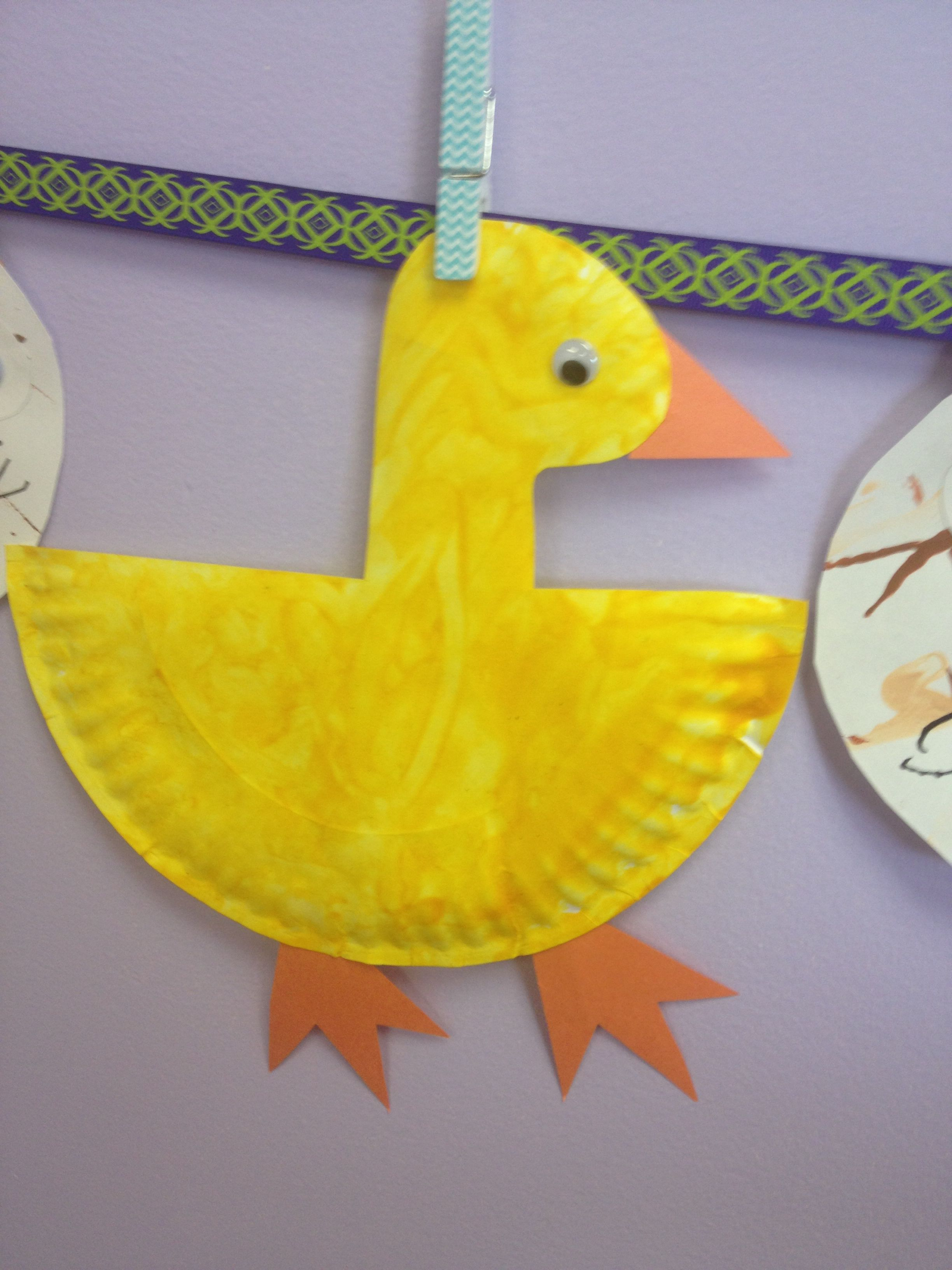 Paper Plate Duck With Images
