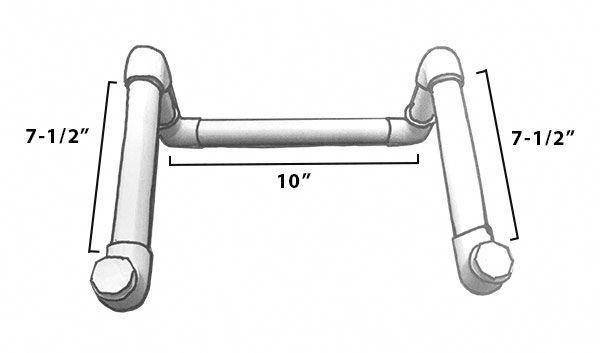 Pvc Stand Diagram  Laptopsdiy
