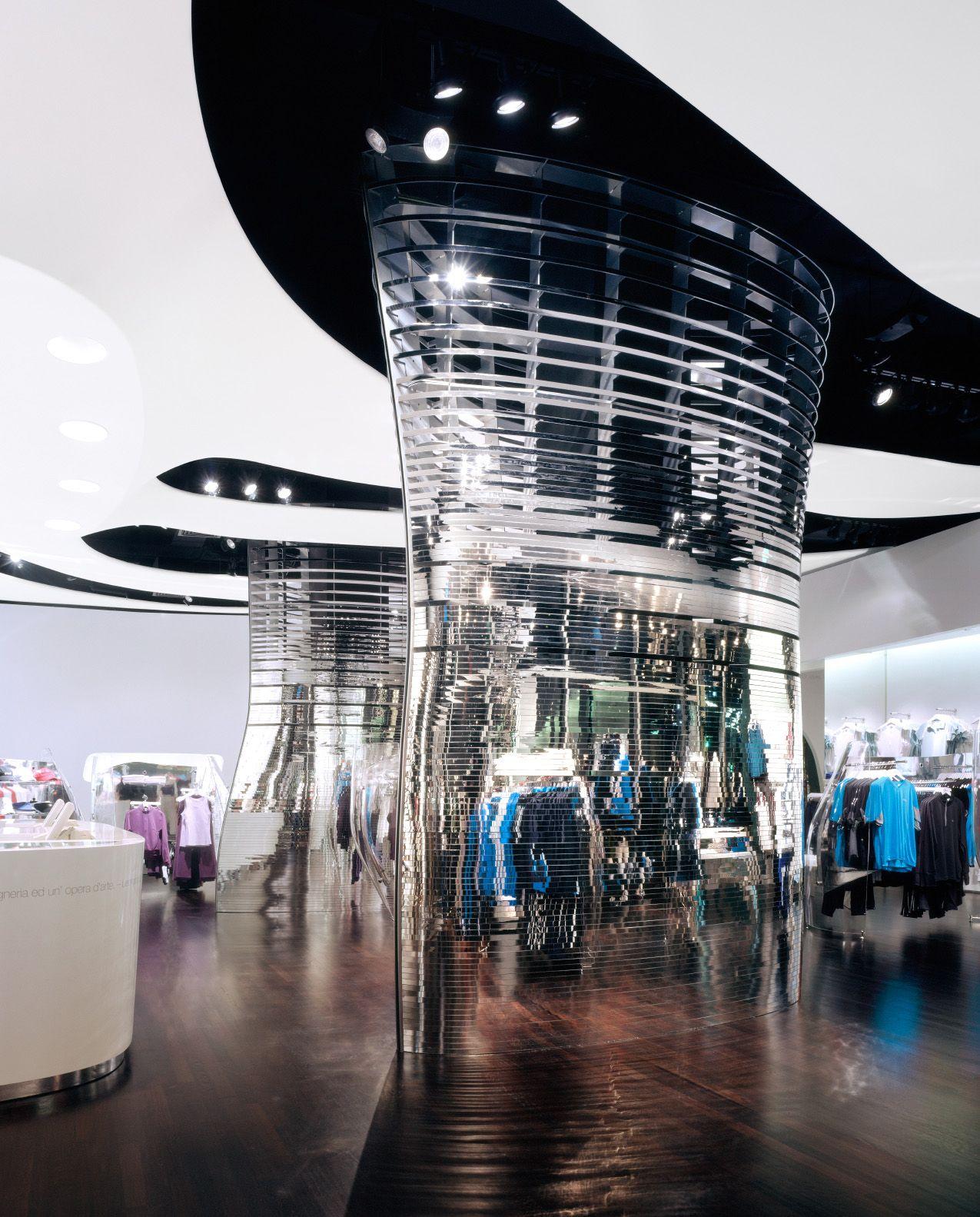 Fila in 2019 | interior | Fabric ceiling, Mall design ...