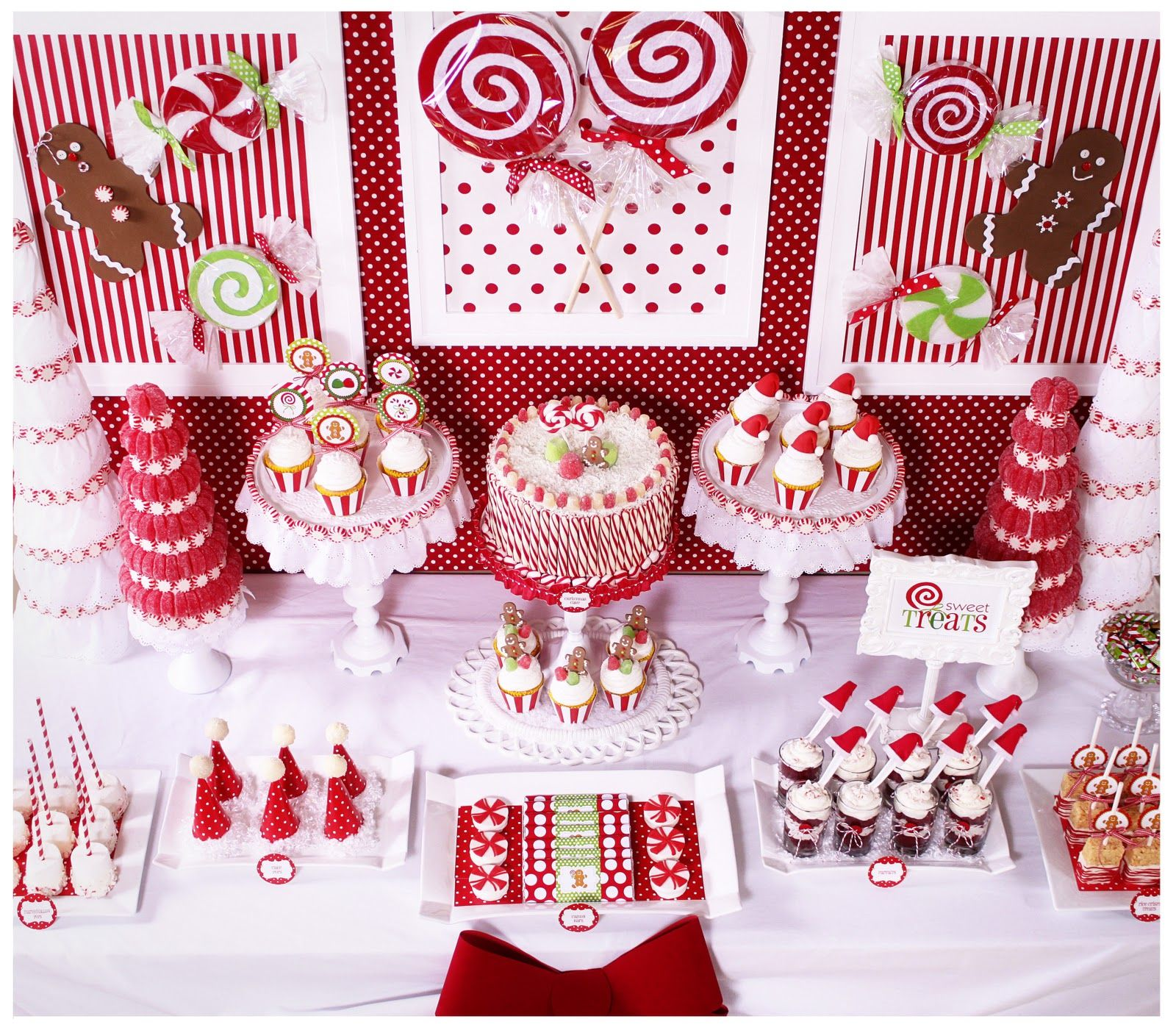 Lovely Theme Ideas For Christmas Parties Part - 14: Candy Land Christmas Party - Karau0027s Party Ideas - The Place For All Things  Party