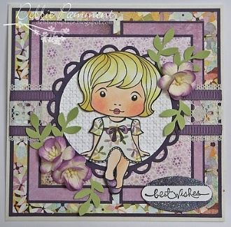 Darling Marci Rubber Stamp