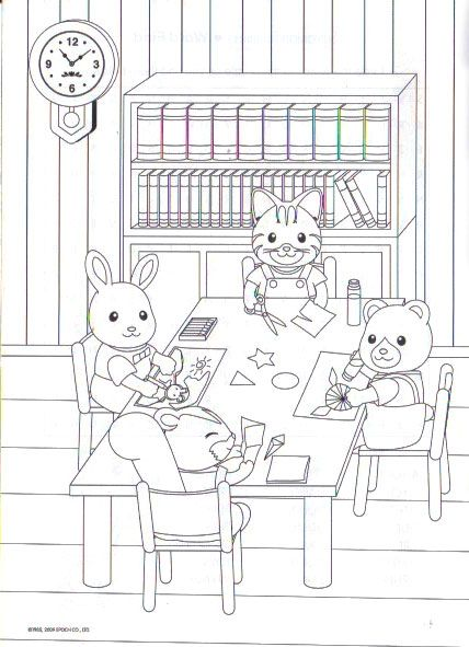 Coloring Page School Work Coloring Pages Family Coloring