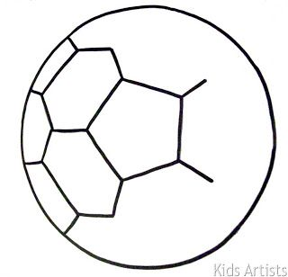 Kids Artists The Most Beautiful Soccer Ball Kunst
