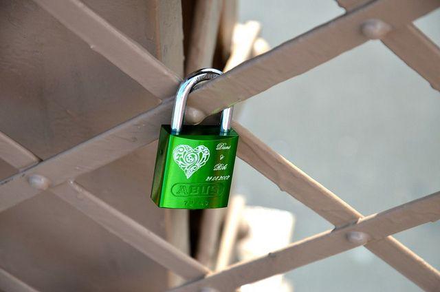 Lock Your Heart Away on Brooklyn Bridge