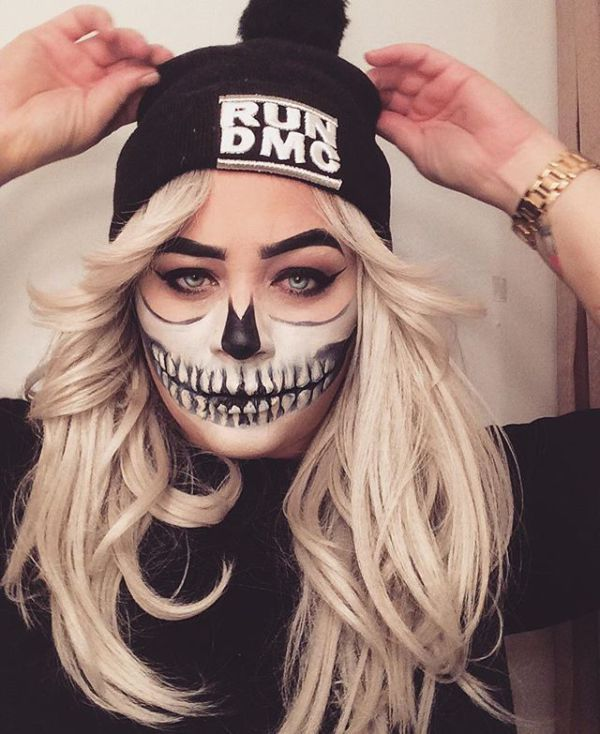 Halloween Makeup Ideas Easy Makeup Looks.20 Seriously Cool And Easy Halloween Makeup Ideas Halloweeeeeen