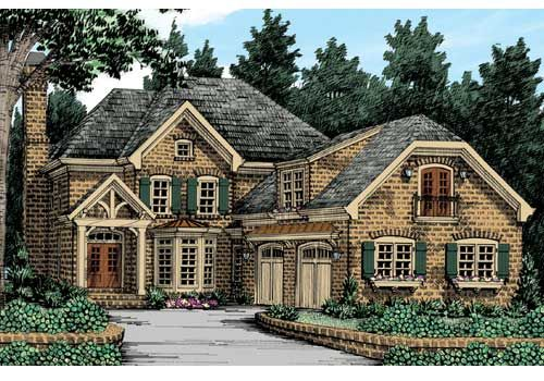 Ansley Cottage Plan From Frank Betz Associates English Country House Plans Country Style House Plans Garage House Plans