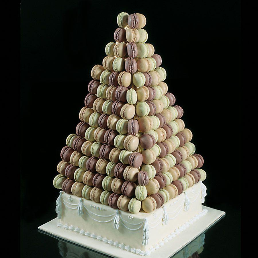 Pyramide de macarons, Pour décorer un buffet, , Gourmandise Tunisie