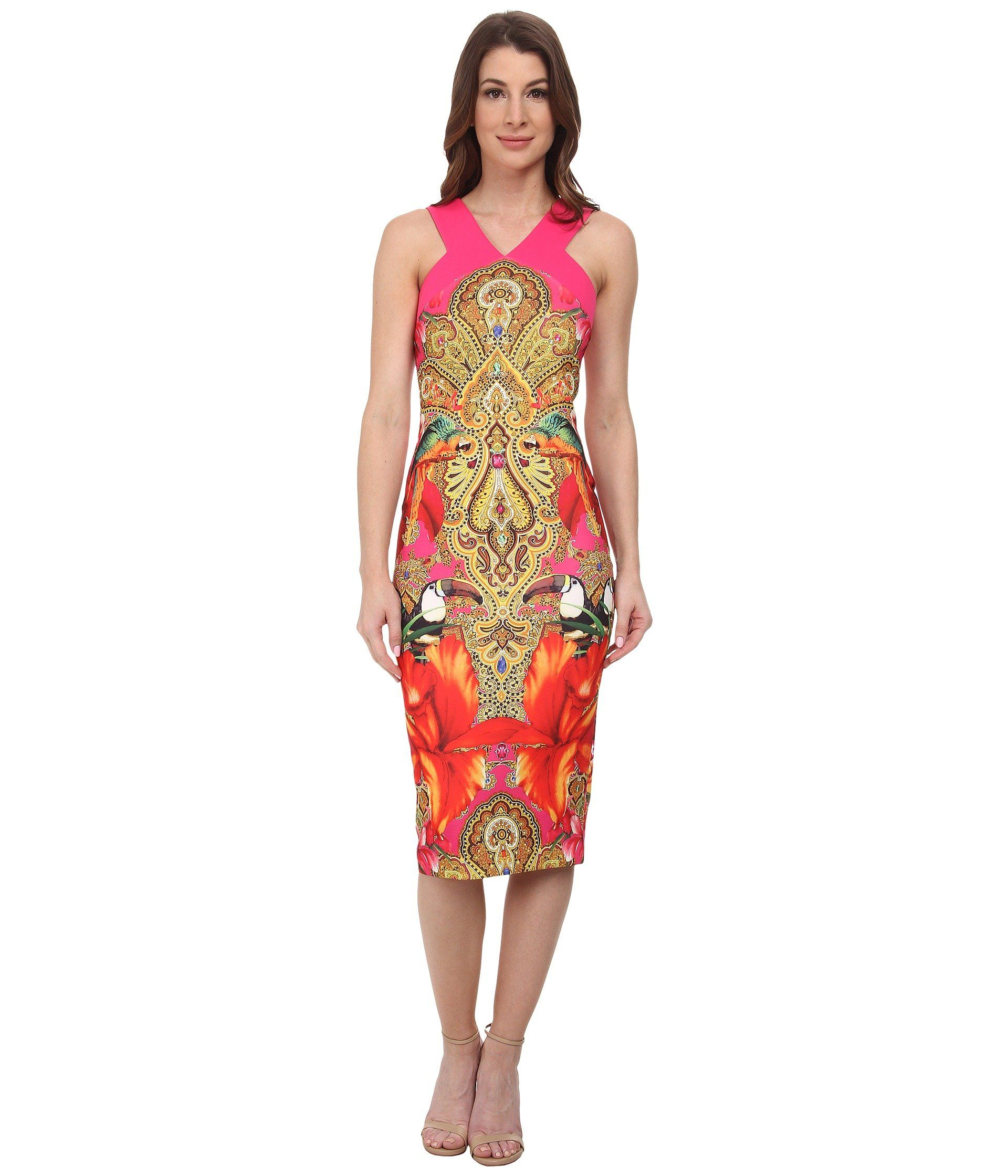 086802d4a2046a4f86d847d5dc3731de - Ted Baker Layli Gem Gardens Dress