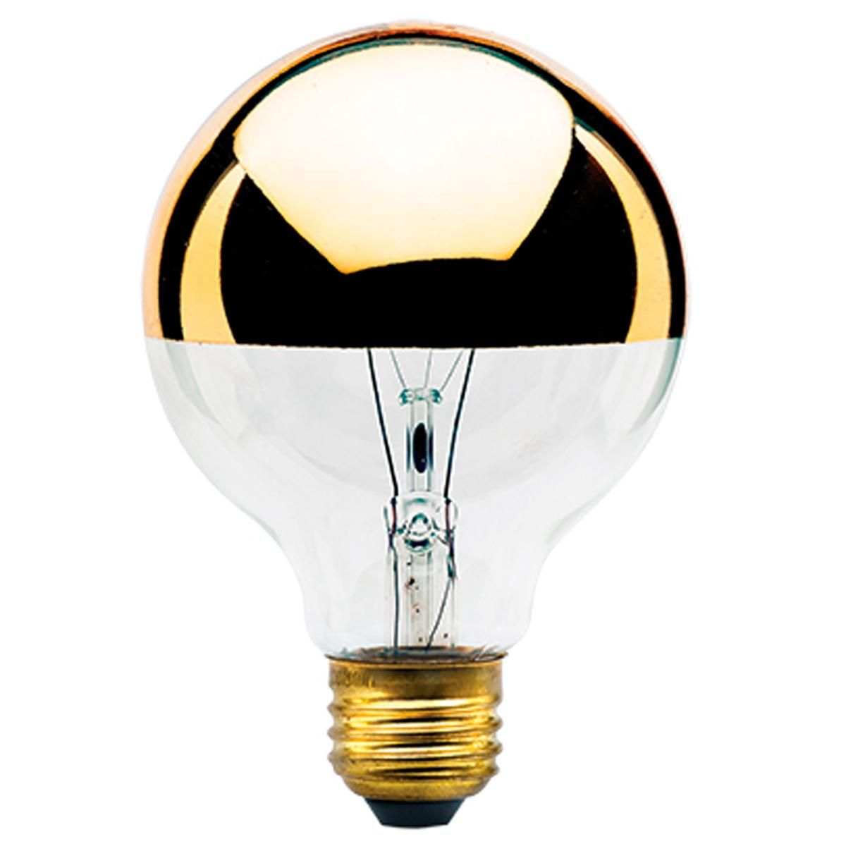 40 Watt G25 Gold Crown Medium Base Bulb Bulb