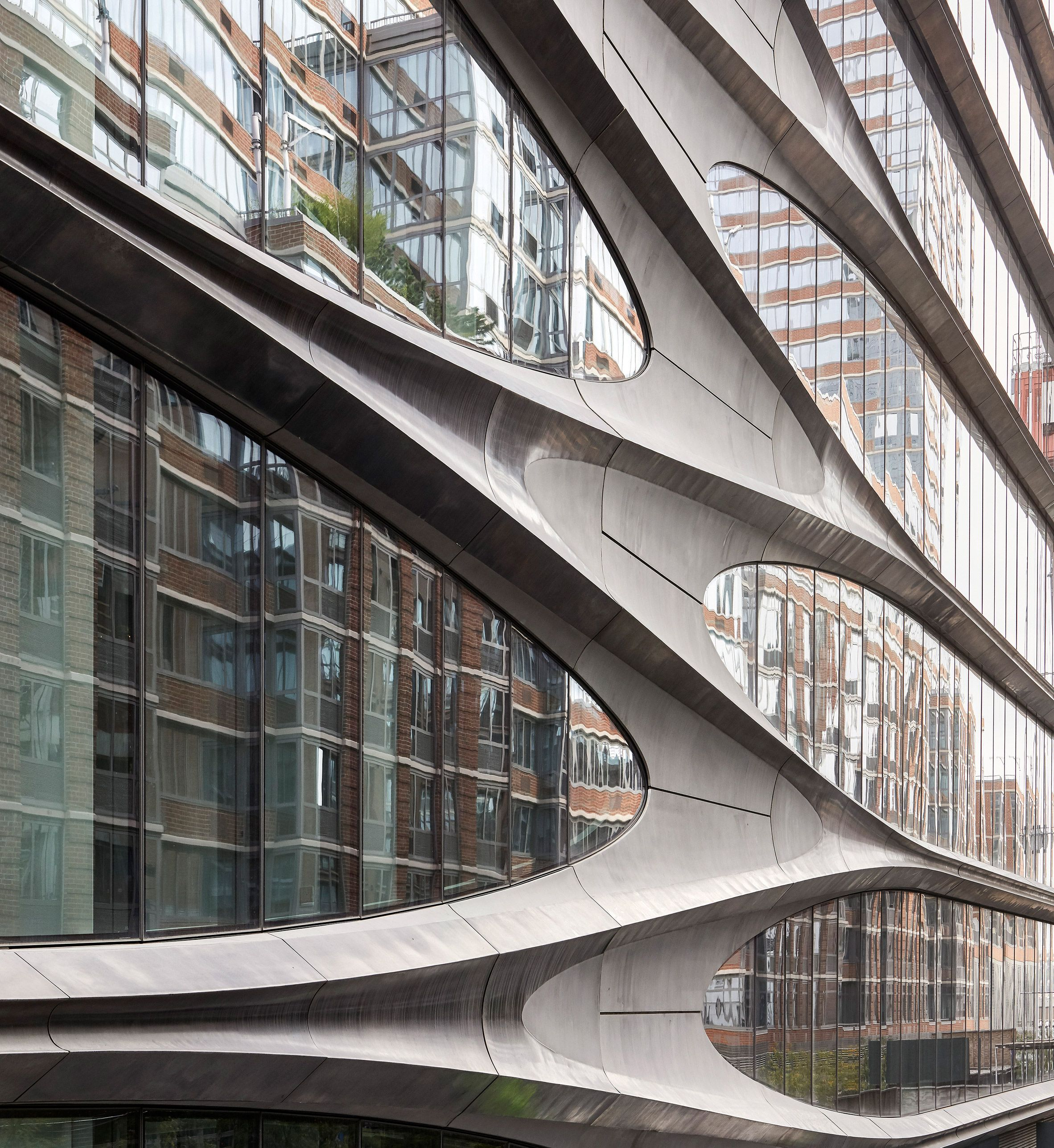 Zaha Hadid Architects Completes 520 West 28th Street Condos In New