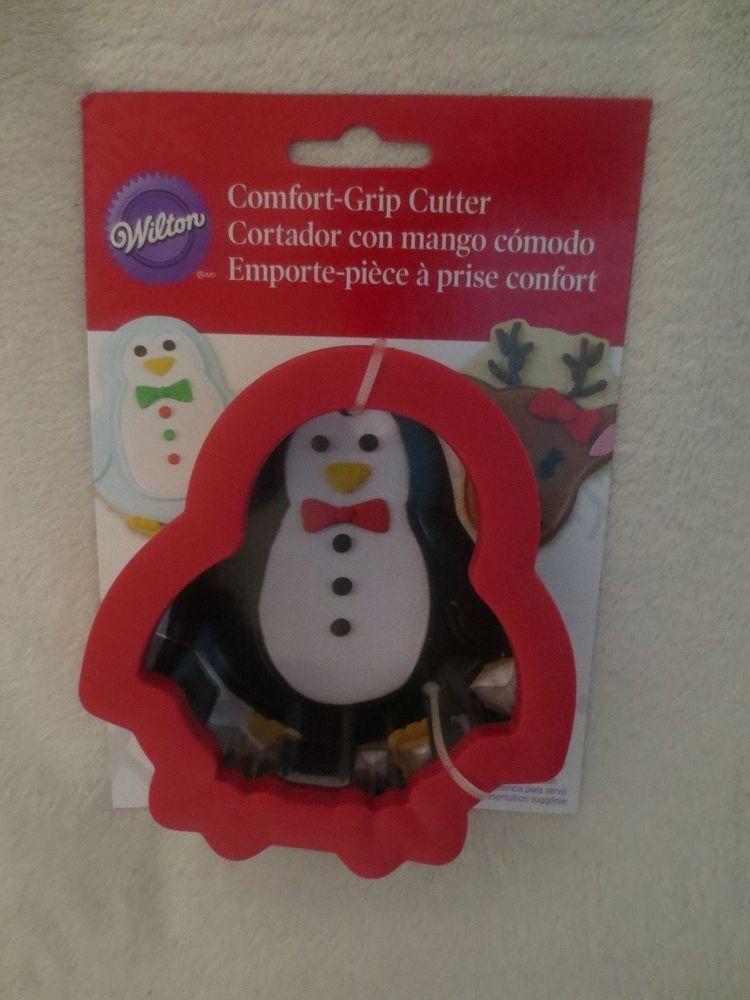 Wilton Comfort Grip Cookie Cutter New Penguin Wilton Wilton