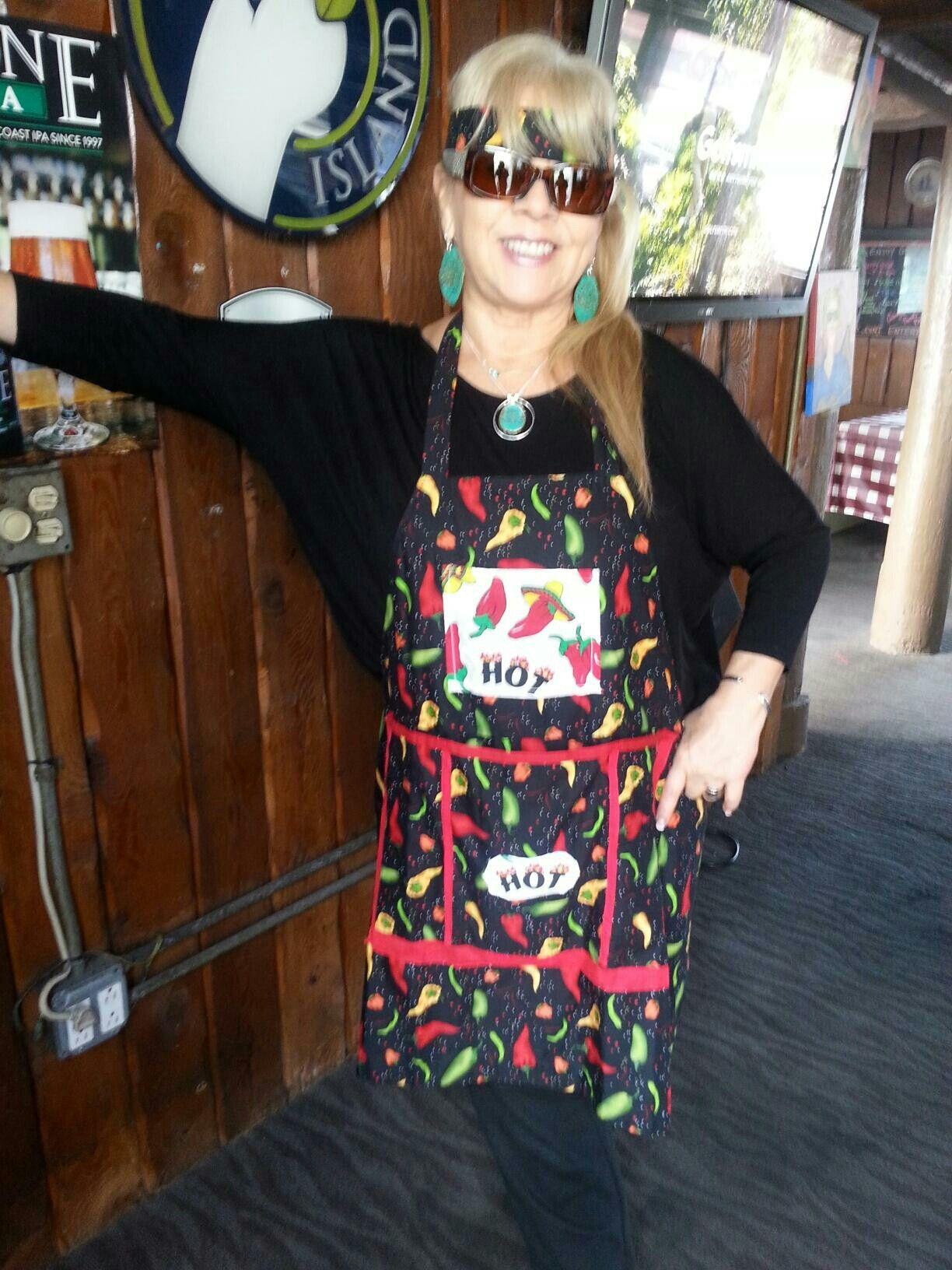 Chili Pepper Apron Custom Made For Olivia!