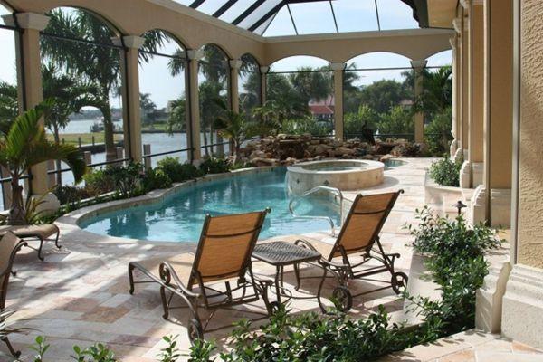 Bilder Pool Garden Schwimmbecken Ideen Sonnenliegen Hauser Mit Pool Pool Im Garten Pool