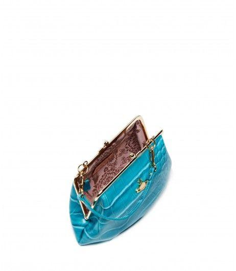 7a437679ef Vivienne Westwood Beaufort  Bag 3655 Turquoise  Coachella