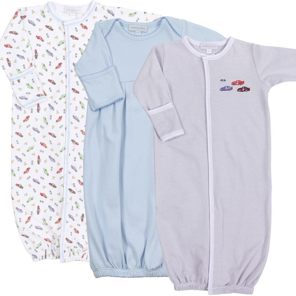 Magnolia Baby Gown Set of 3 - Victory Lane