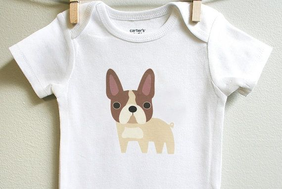 Baby Clothes French Bulldog