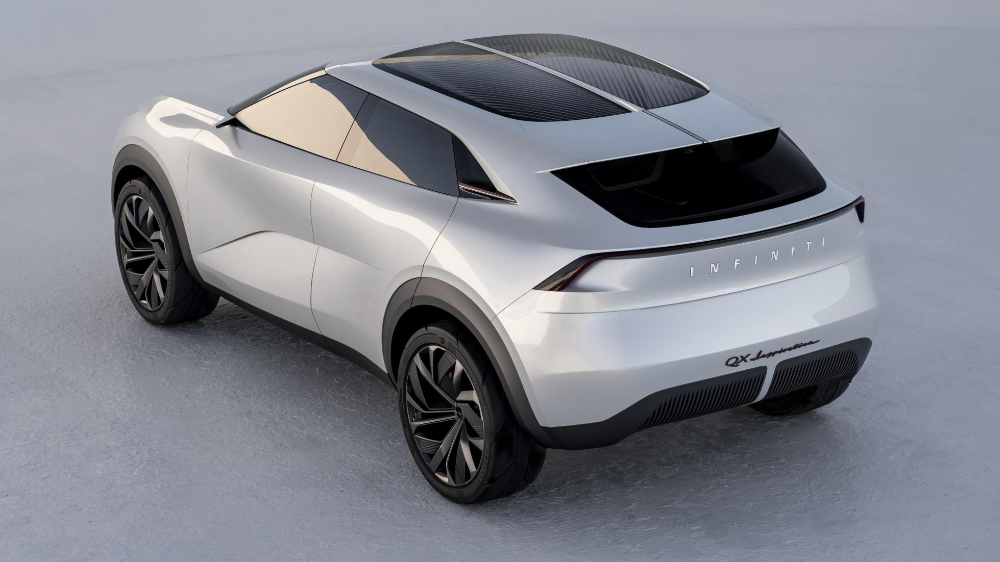The Infiniti QX Inspiration is another electric SUV in
