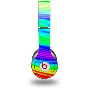 Amazon.com: Rainbow Swirl Decal Style Skin (fits genuine Beats Solo HD Headphones - HEADPHONES NOT INCLUDED): Everything Else