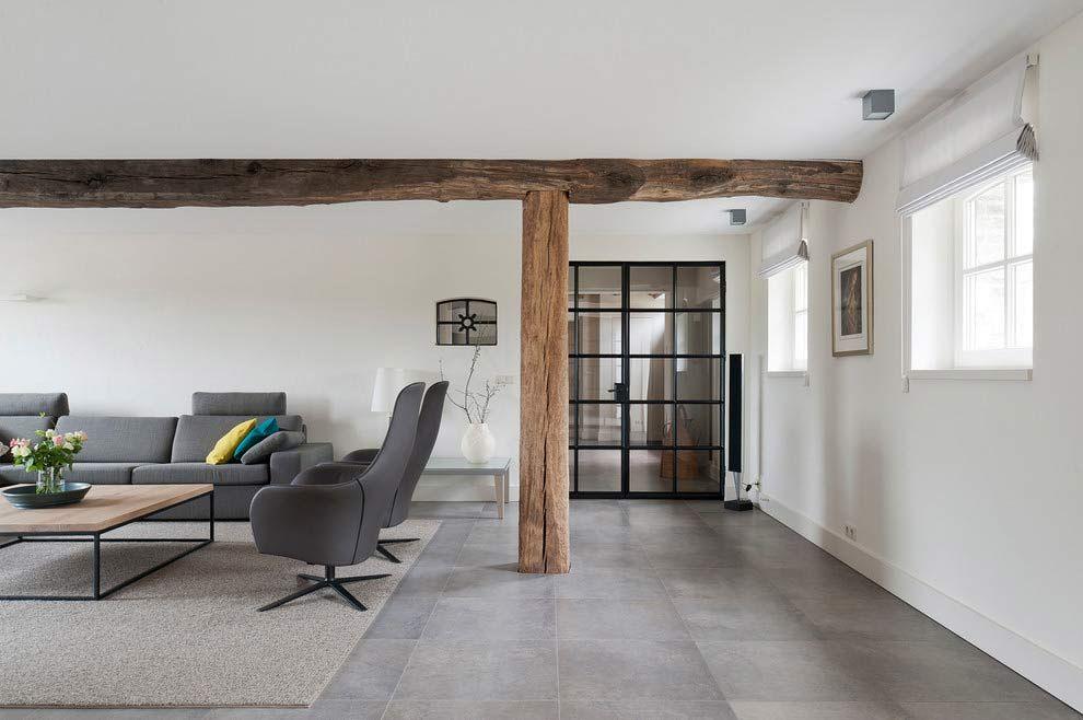 Modern farmhouse by doret schulkes interior modern