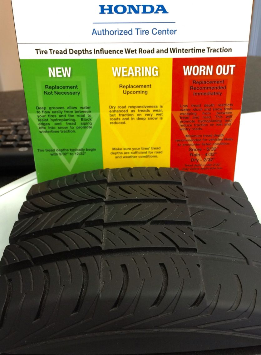 Countertop information Display done right // Honda tire ...