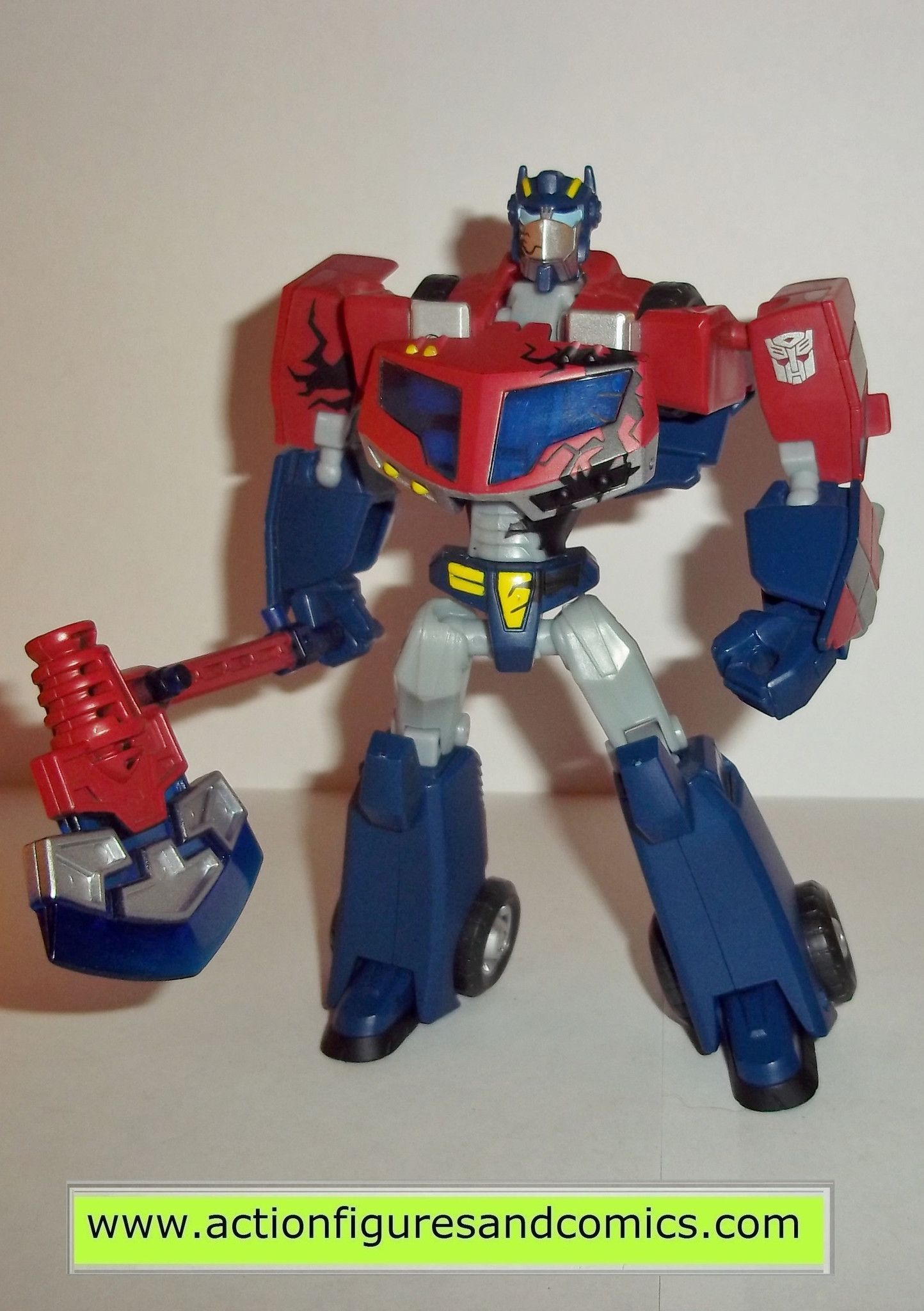 Kettler Outlet Kamen Transformers Optimus Prime Animated Complete Battle Begins