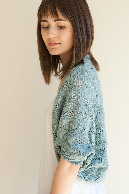 Ravelry: Robin Shrug pattern by Pam Allen ... more Quince & Co ...