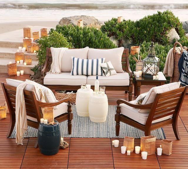 C mo decorar balcones y terrazas peque as terrazas - Muebles para terraza pequena ...