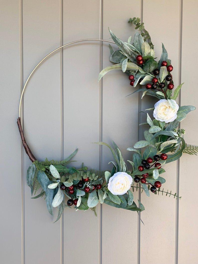 11+ Hoop wreath christmas ideas in 2021