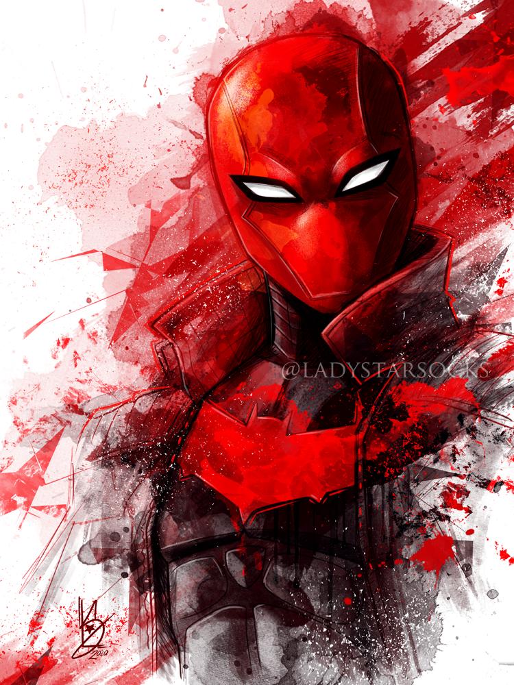 Red Hood By Ladystarsocks On Deviantart Batman Arkham Knight Red Hood Red Hood Comic Red Hood