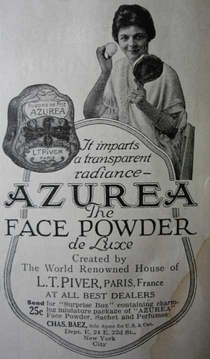 Annuncio di Azurea vintage