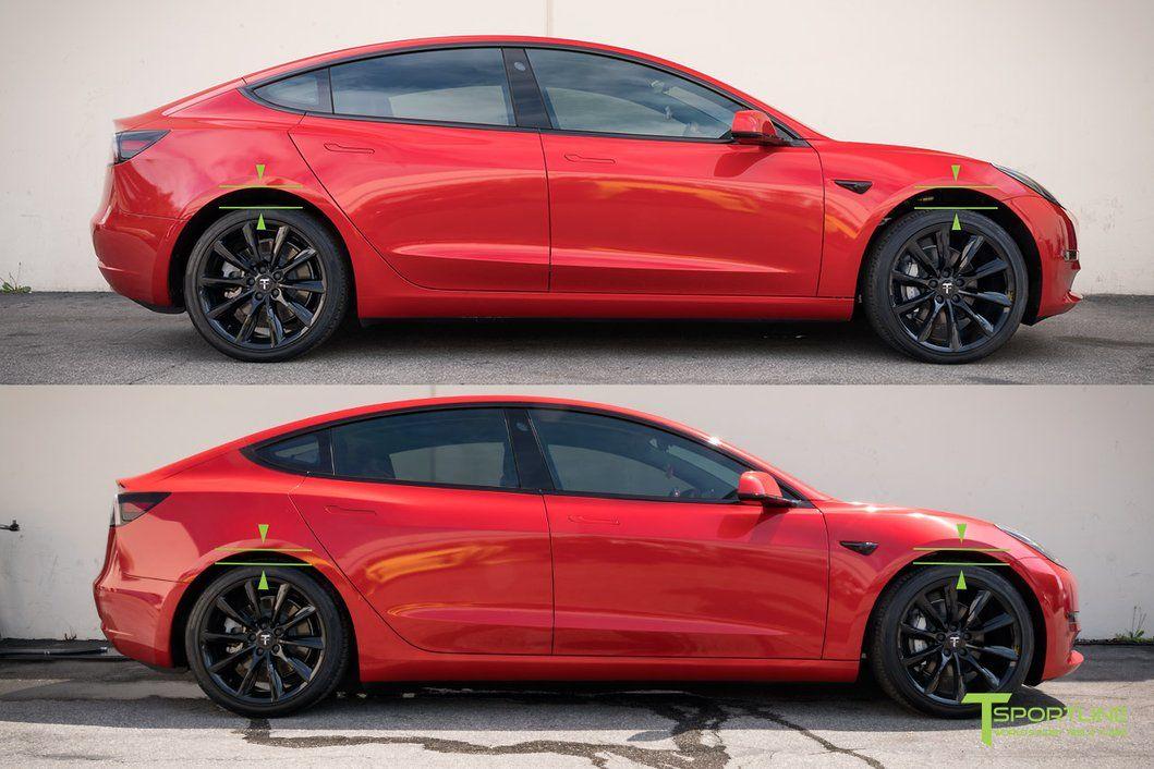 Tesla Model 3 Sport Lowering Springs Concept Cars Tesla Tesla Model