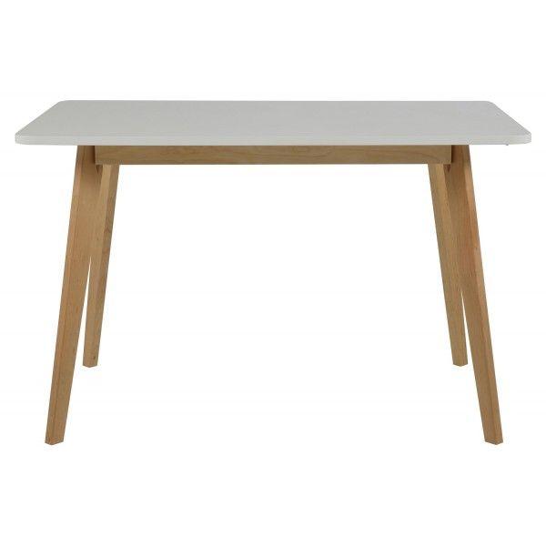 Vierkante Eettafel Wit.Scandes Arden Vierkante Eettafel Wit Ellen Olsthoorn