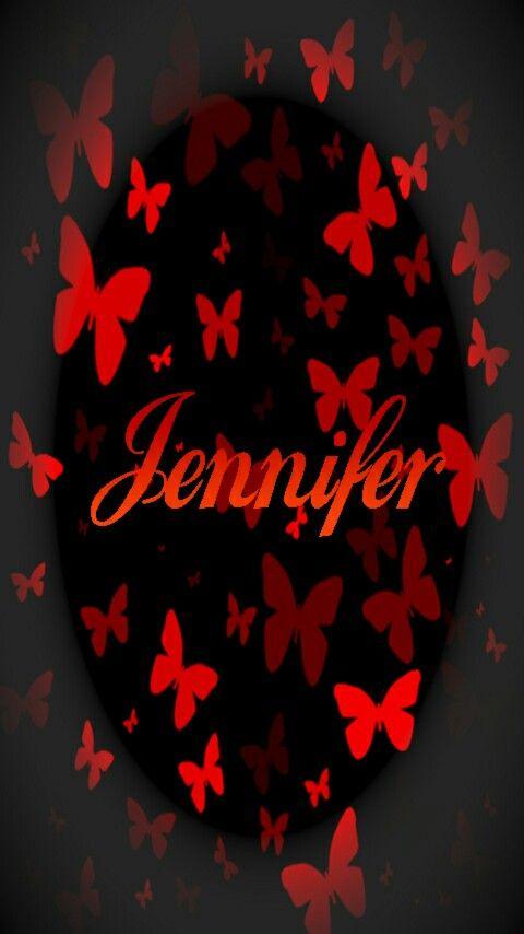 Pin By Jenny Williamson On Jennifer Jennifer Name Name Wallpaper Wallpaper