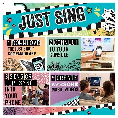 Just Sing Xbox One, video games Singing, Video game
