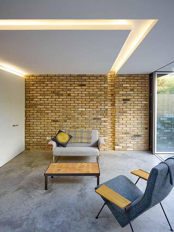 Recessed Lighting In The False Ceiling False Ceiling Living Room Ceiling Design Modern Ceiling Light Design