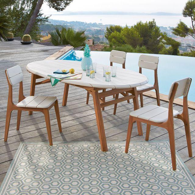 Table rallonge jardin : modèles tendance | Salon Jardin | Pinterest ...