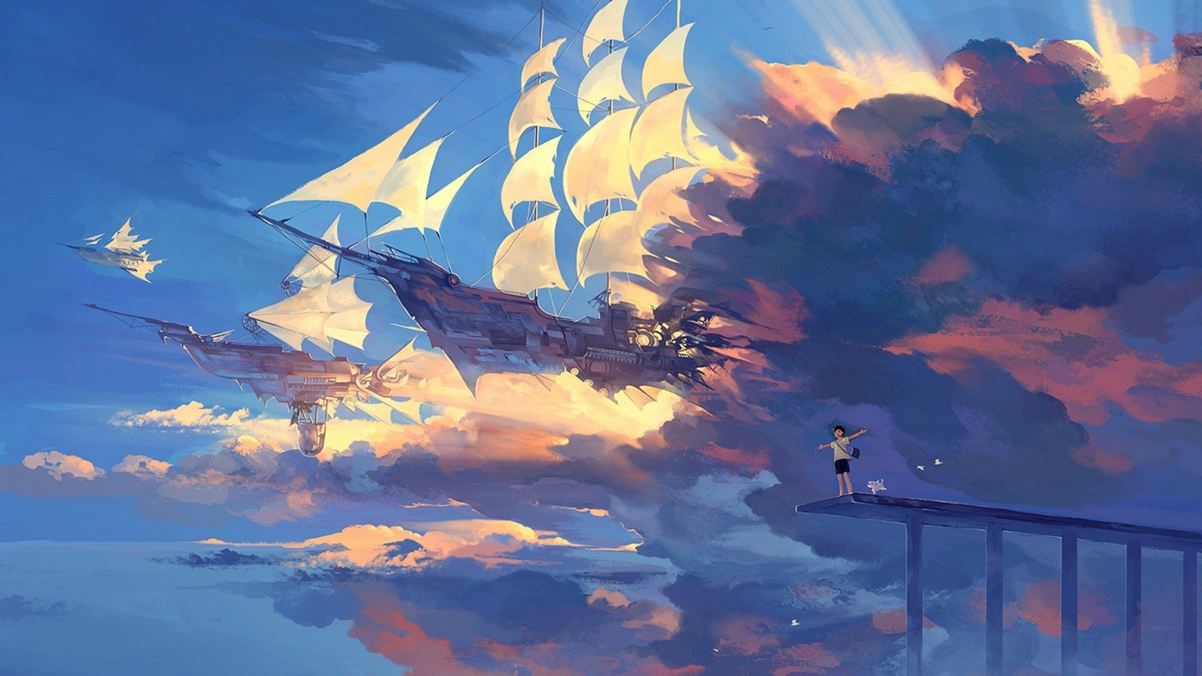 Anime Scenery Wallpaper Anime scenery wallpaper, Anime