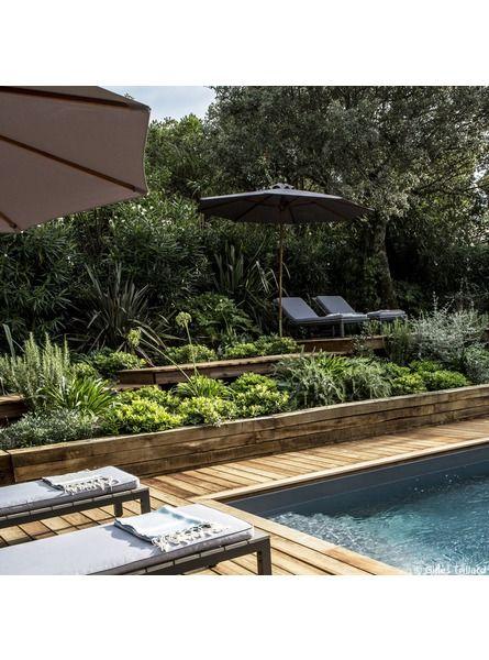 un jardin en espalier jardin pinterest jardins potager et piscine. Black Bedroom Furniture Sets. Home Design Ideas