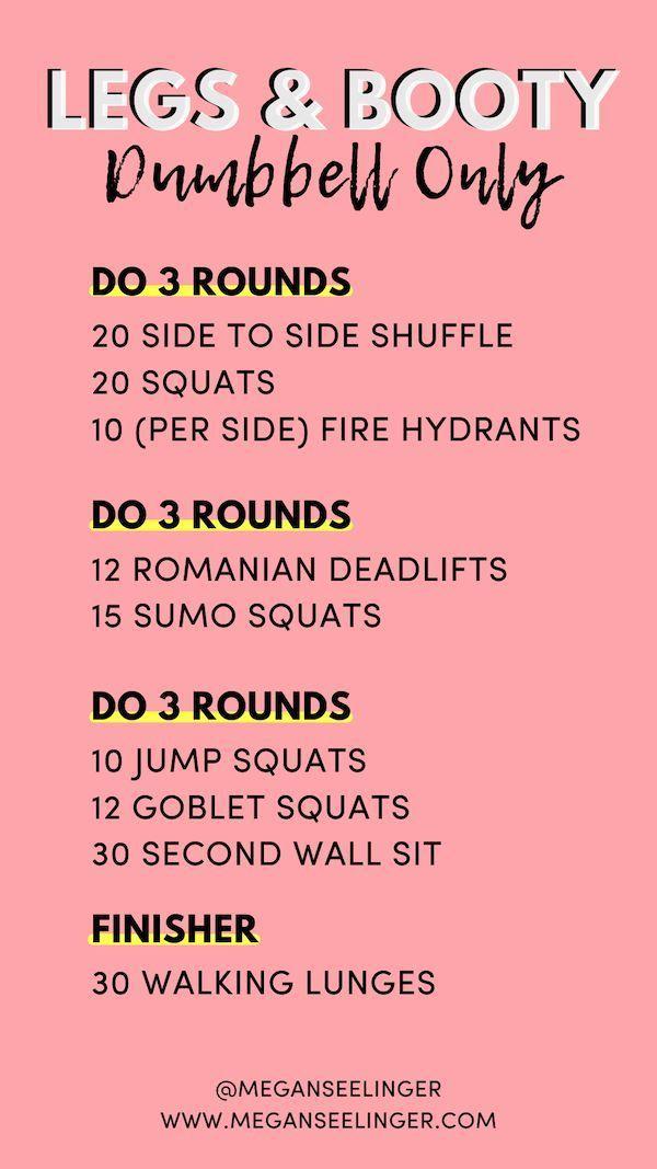 Strength Training Dumbbell Workouts for Women — Megan Seelinger Coaching