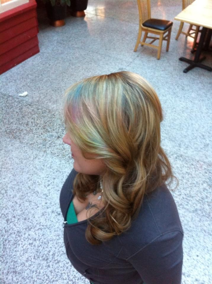 Davines Mother of Pearl Permanent Hair Color Technique  Hair by