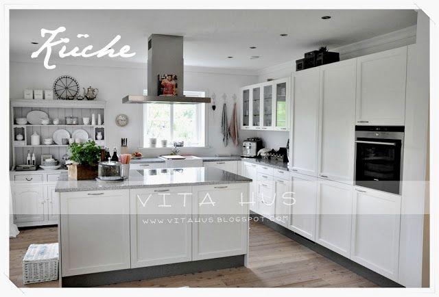 Weisse Küche Kitchen - Küche Pinterest Kitchens - Küchen Weiß Hochglanz